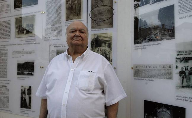 El poeta Enrique Morón pronunciará el pregón de la feria y fiestas de Cádiar