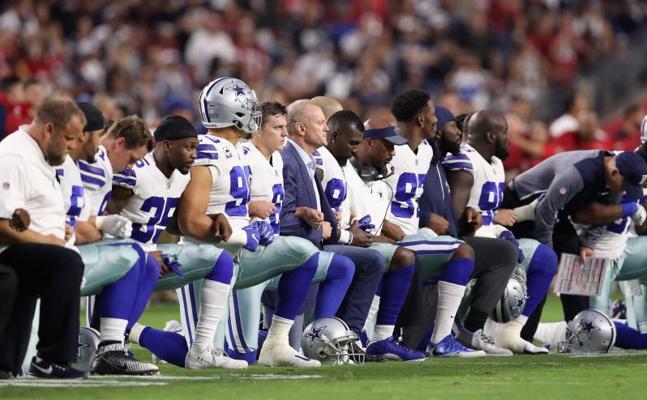 Trump arremete contra los dueños de los equipos de la NFL