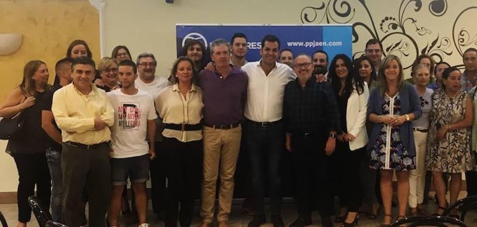 Gallarín es reelegido y da su apoyo a la dirección del PP