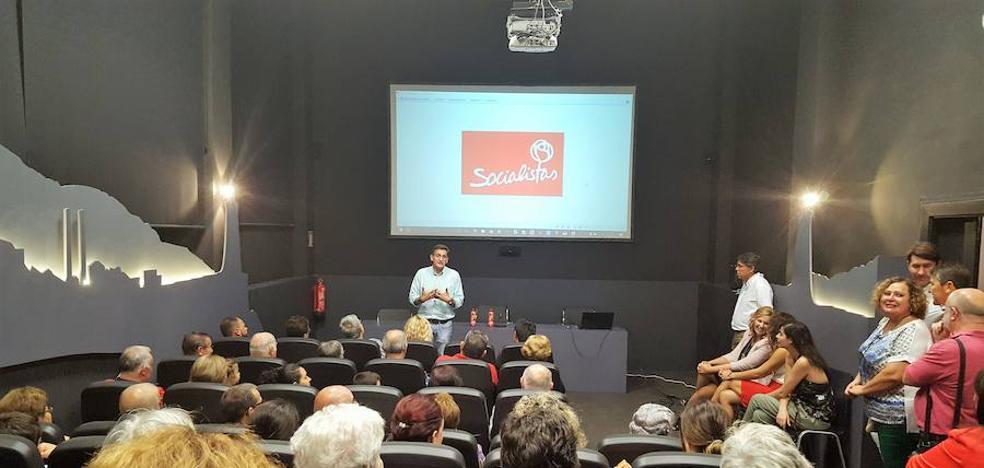 Sánchez Teruel fija los objetivos del PSOE de Almería en la defensa de salarios dignos y la lucha contra el desempleo