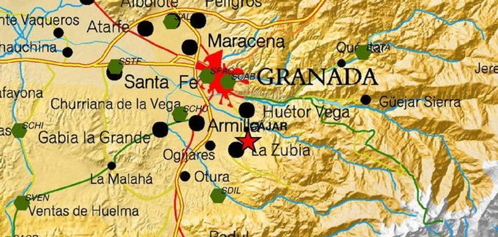 Sentido en Cájar un pequeño terremoto