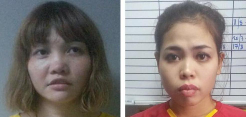 Las acusadas por la muerte del hermanastro de Kim Jong-Un se declaran no culpables