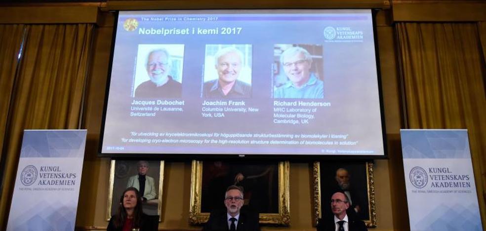 El Nobel de Química premia a los exploradores de las biomoléculas