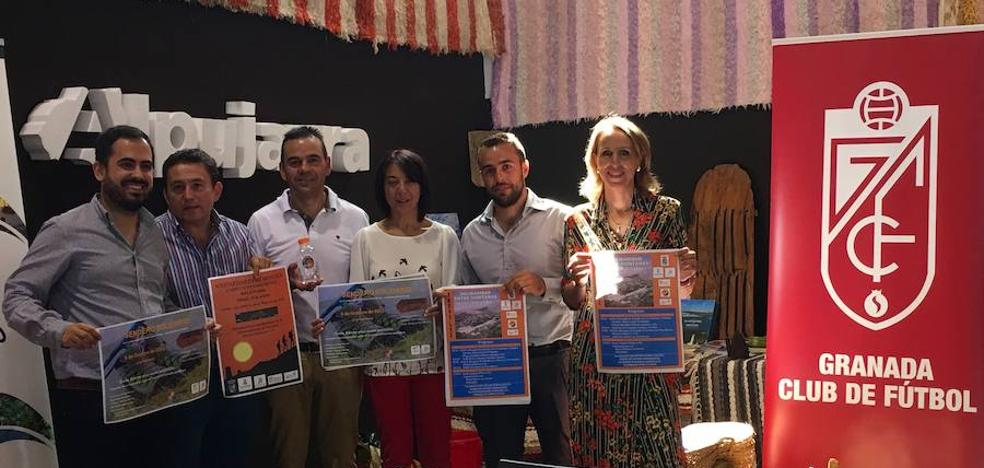 La Alpujarra acoge rutas solidarias para apoyar investigaciones contra el cáncer