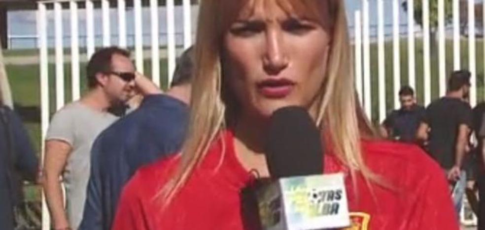El esperpento de Alba Carrillo con la Selección española