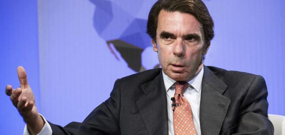 Aznar reclama a Rajoy elecciones si se ve «incapaz» de actuar en Cataluña
