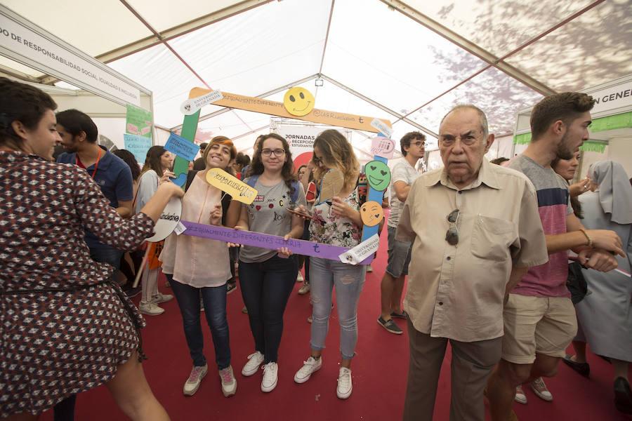 Inauguración de las Jornadas de Recepción de Estudiantes de la UGR