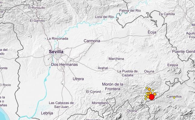 9 terremotos 'sacuden' Sevilla; uno de 4.2