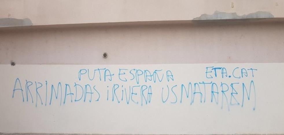 Amenazan de muerte a Albert Rivera e Inés Arrimadas