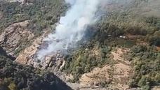 Extinguido el incendio forestal originado este sábado en Busquístar