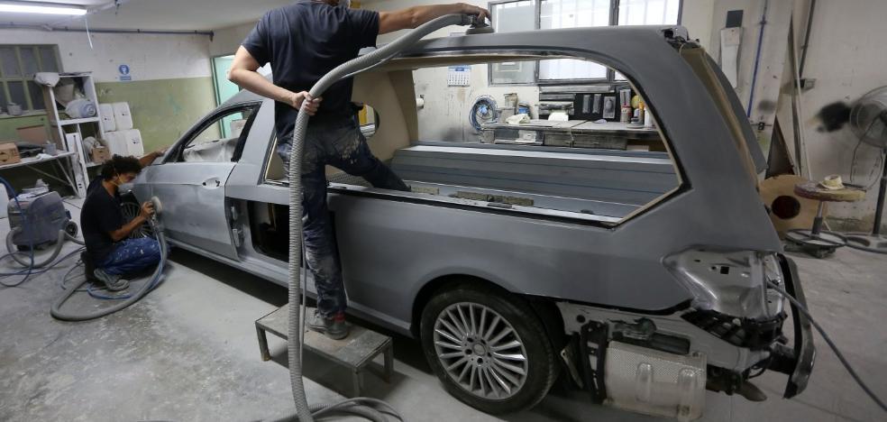 Así son los Maserati convertidos en coches fúnebres