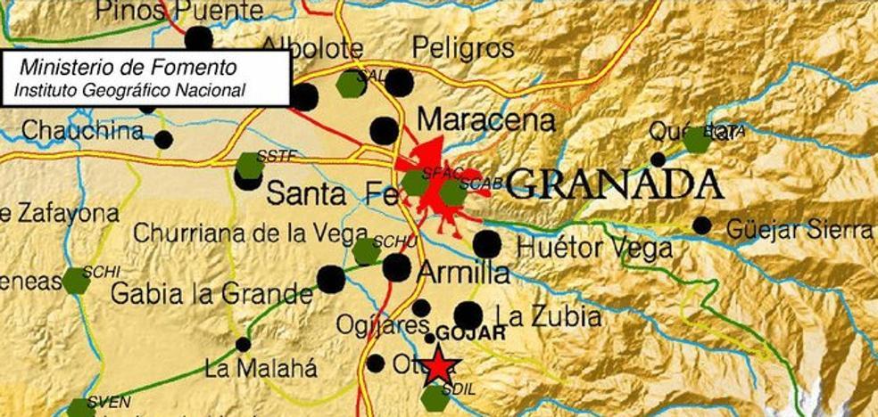 Un terremoto de 2.4 en Gójar agita Granada y su cinturón metropolitano
