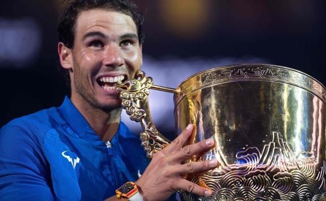 Nadal suma en Pekín su sexto título del año