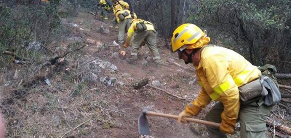La Junta inicia las obras de emergencia en zonas afectadas por el incendio de Segura de la Sierra