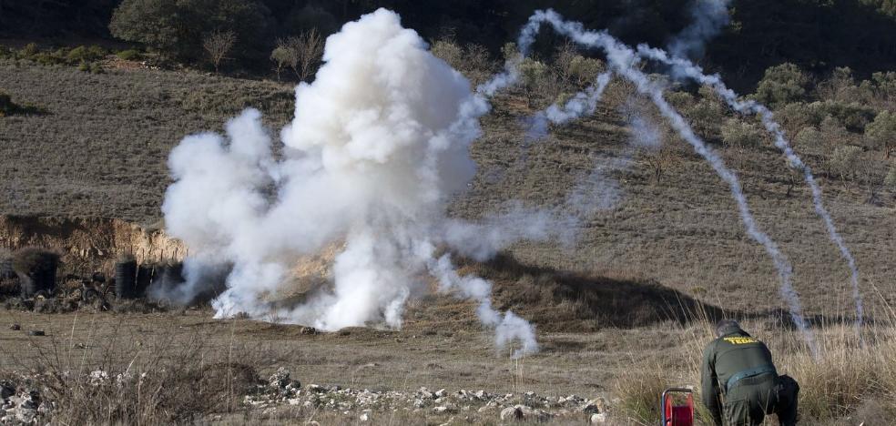 Las peligrosas bombas que continúan enterradas en España