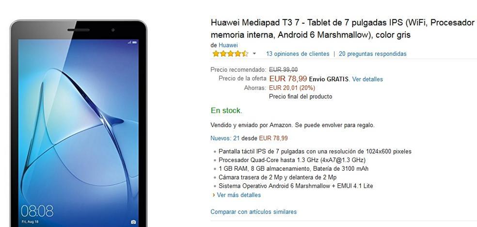 Las mejores tablets que encontraremos en Amazon