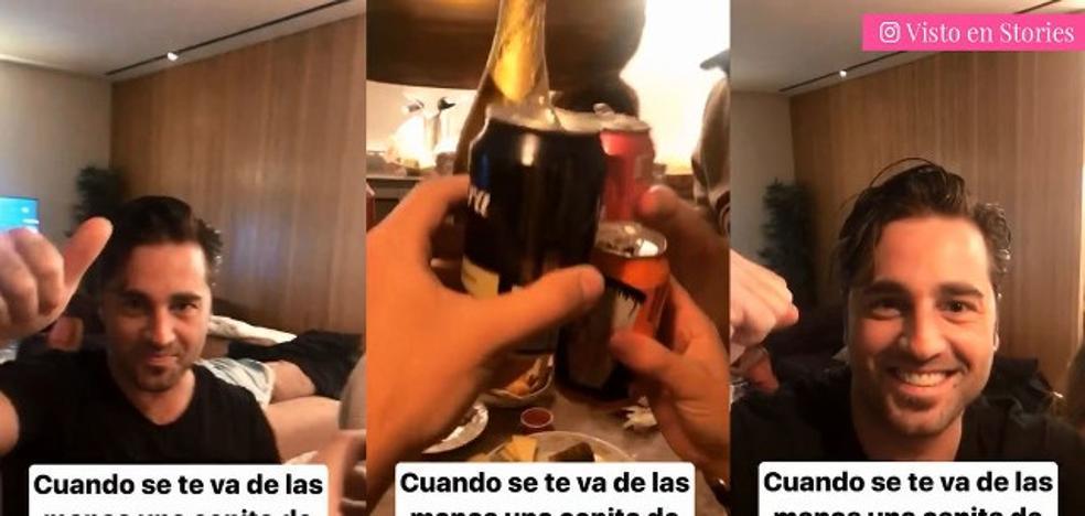 La fiesta de David Bustamante para celebrar su nueva vida