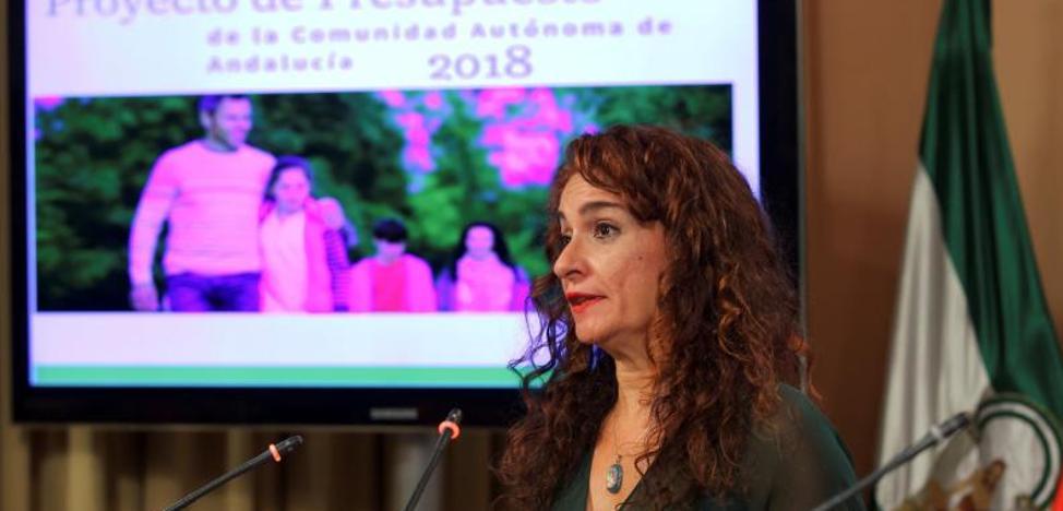 La Junta de Andalucia prevé que todos sus funcionarios ganen más de 1.000 euros en 2018