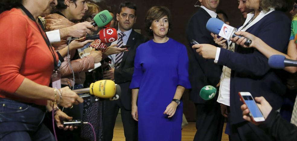 El PSOE aplaza la reprobación de la vicepresidenta del Gobierno por las cargas del 1-0