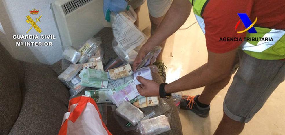 Cae la red más grande de venta de marihuana al extranjero asentada en Granada con 51 detenidos