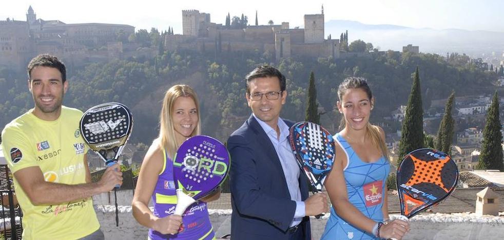 Granada acoge cuatro años después a la élite del pádel mundial