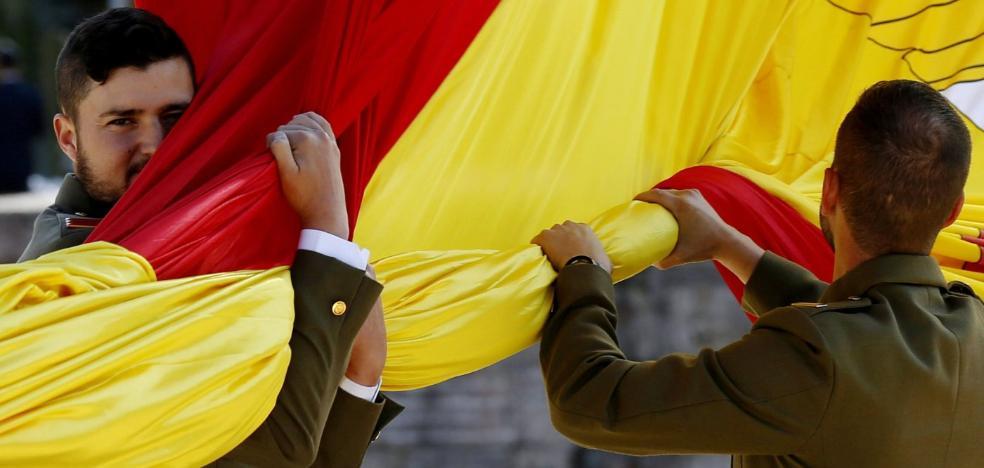 La bandera de España más grande, 'made in' Jaén