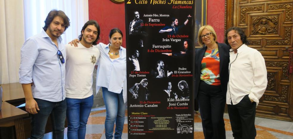Farruquito y Canales encabezan el cartel de las noches de La Chumbera