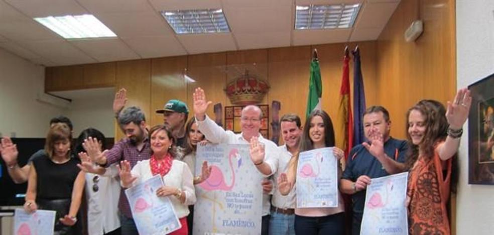 El Ayuntamiento impulsa la campaña #Stop Flamencos para prevenir las agresiones sexistas en la Feria de San Lucas