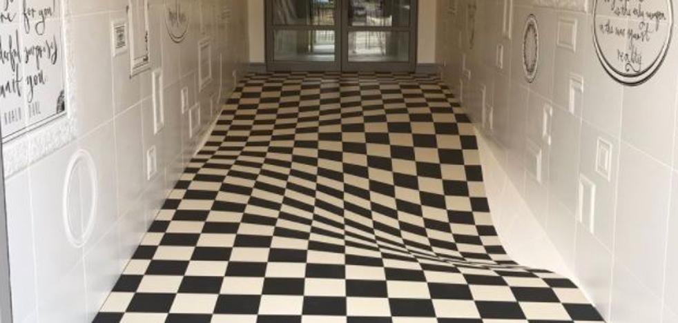 ¿Correrías por este pasillo?