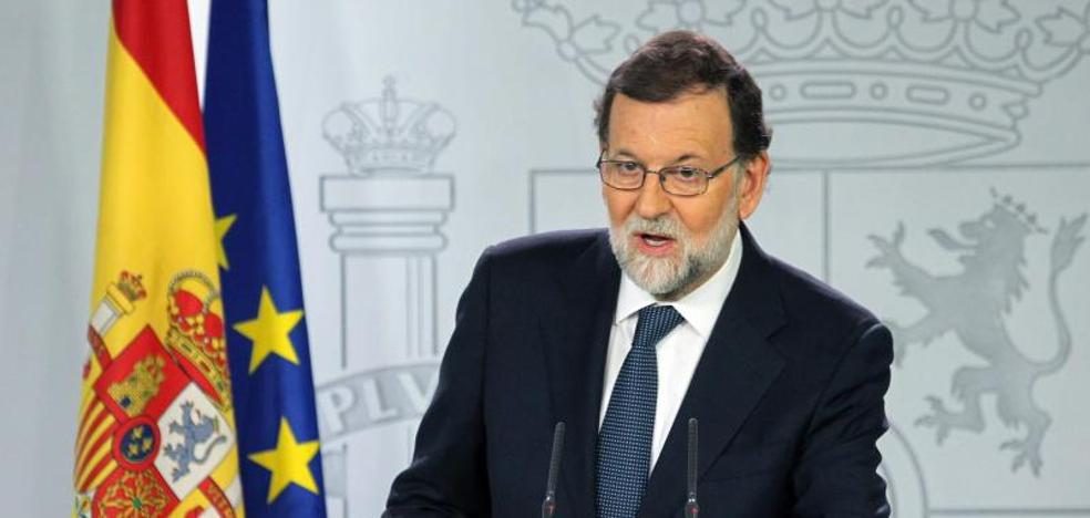 El Gobierno abre la vía del 155 en Cataluña y da un ultimátum a Puigdemont