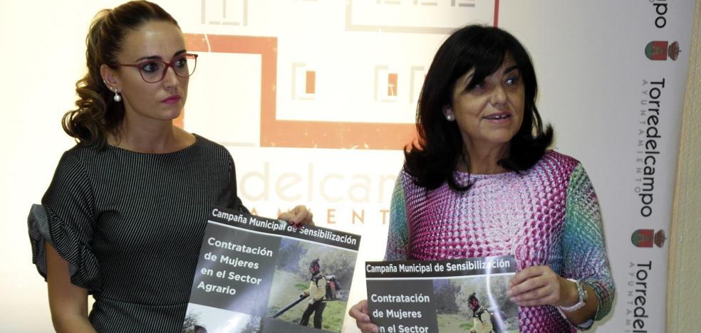 Campaña en Torredelcampo para que haya más mujeres en la aceituna