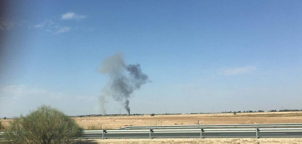 Muere el piloto de un Eurofighter del Ejército del Aire estrellado en Albacete tras participar en el desfile del 12-0