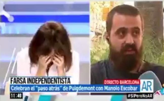 Las carcajadas de Ana Rosa con la declaración de independencia de sus vecinos