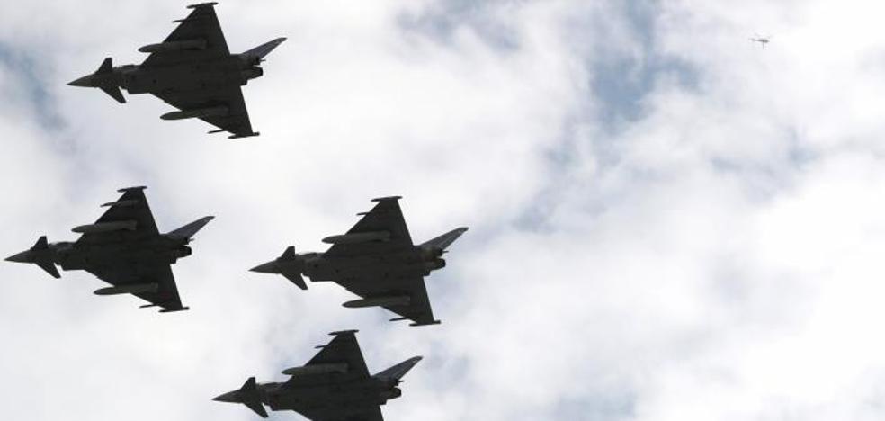 Así es el Eurofighter estrellado: en España ha habido otros 2 accidentes mortales