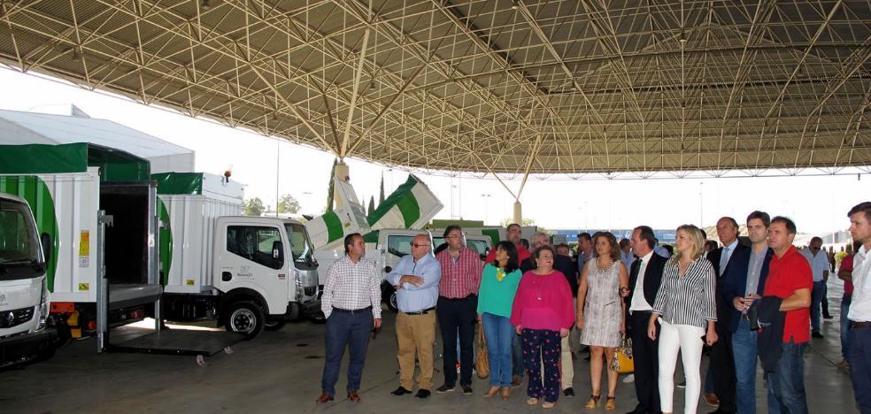 Pilar Parra califica de «modélico» el sistema de Resurja para la gestión de residuos