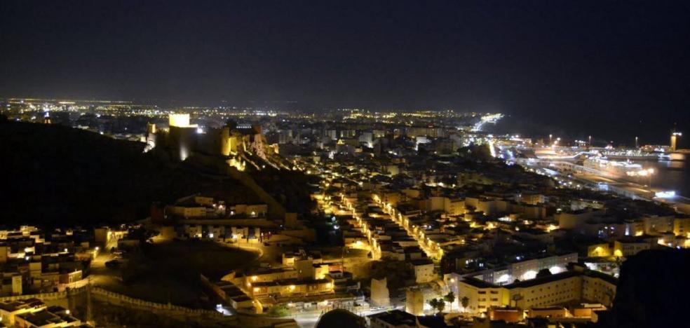 La nueva iluminación de la Alcazaba saldrá a licitación este trimestre