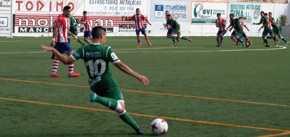 Reparto de puntos entre el Atlético Mancha Real y el Torredonjimeno en un derbi de oficio