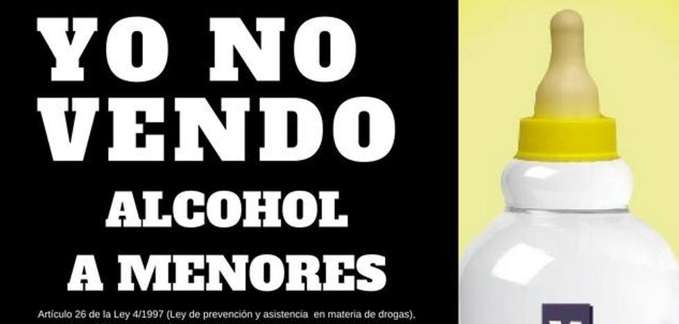 Marmolejo inicia una campaña contra la venta de alcohol a menores