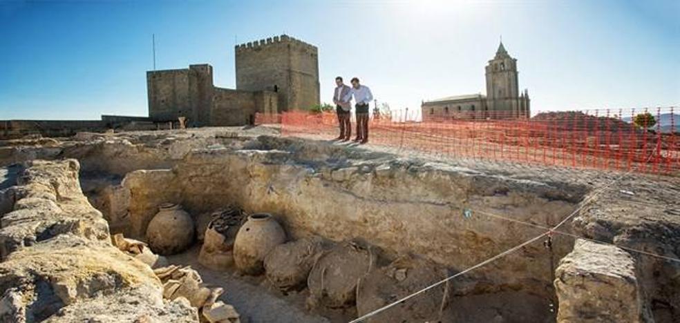 Localizadas 200 piezas arqueológicas en las excavaciones de la fortaleza de la Mota, en Alcalá la Real