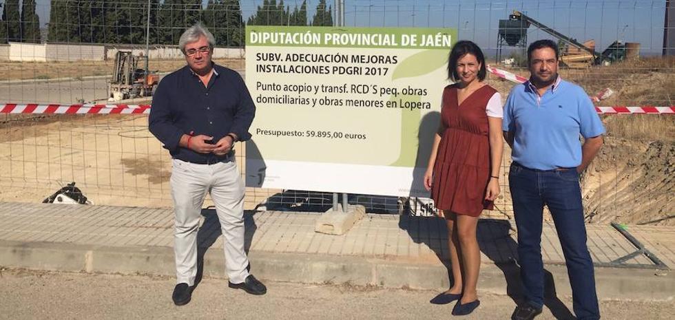 Lopera, Begíjar y Carboneros contarán con puntos para el depósito de escombros