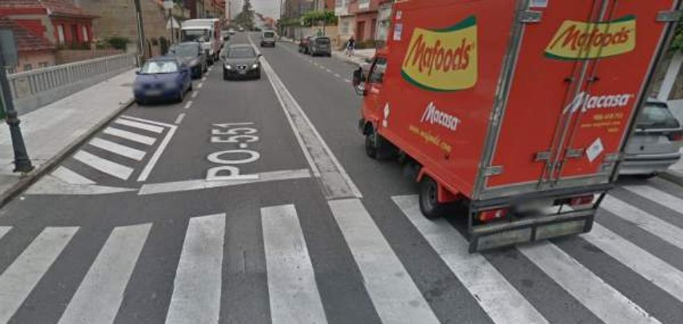 Un motorista mata a una niña de 4 años al atropellarla en un paso de cebra en Pontevedra
