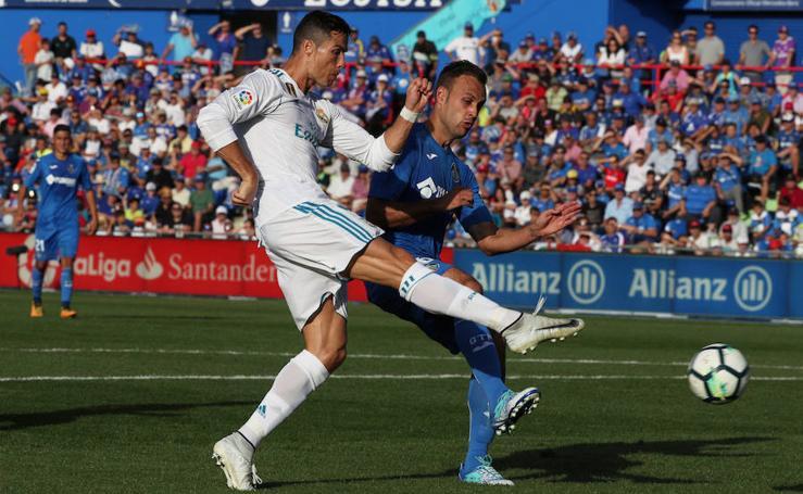 Los mejores momentos del Getafe - Real Madrid, en imágenes