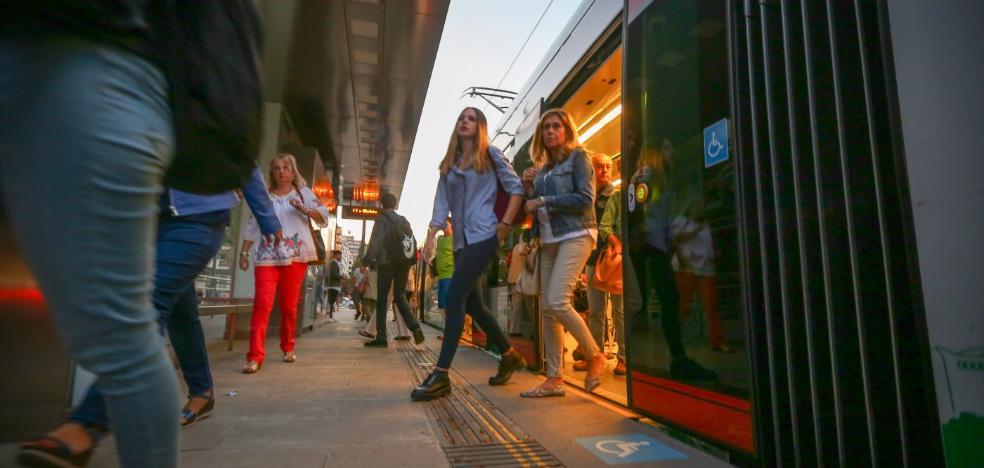 El metro de Granada es una locomotora