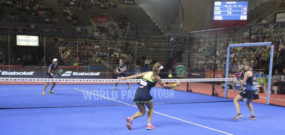 Las españolas Gemma Triay y Lucía Sainz, campeonas del Granada Open