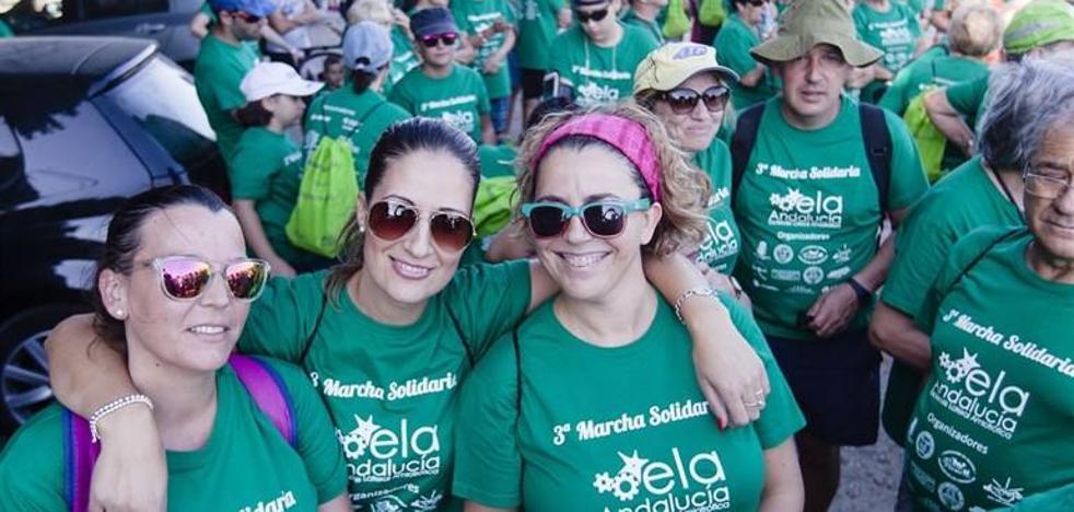 Un millar de personas se suman a la lucha contra la ELA en la III Marcha Solidaria de Venta Gaspar