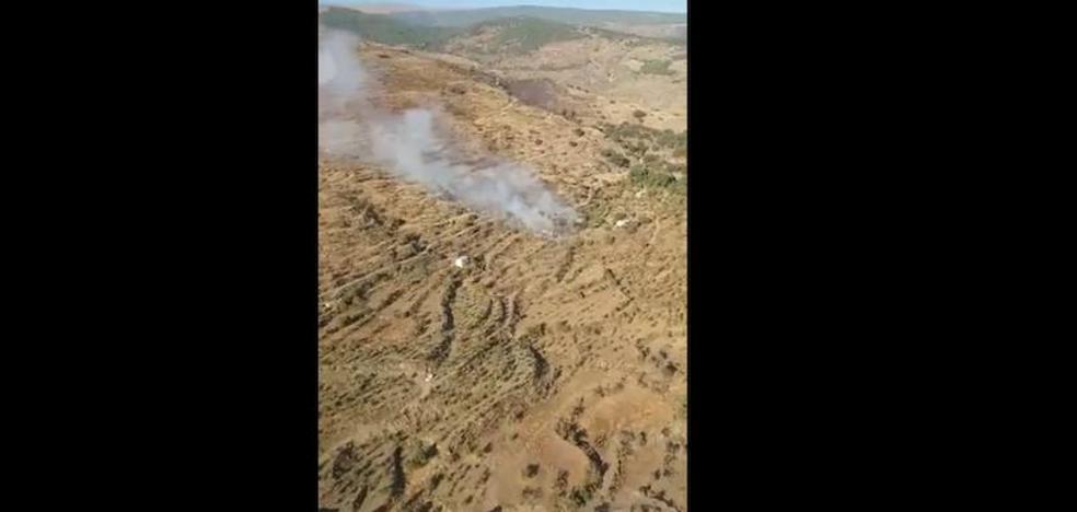 Controlado el incendio forestal de Válor