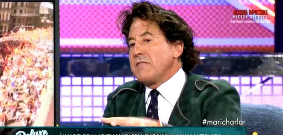 "Jorge Javier explota contra Álvaro Marichalar: ""Eres un maleducado"""
