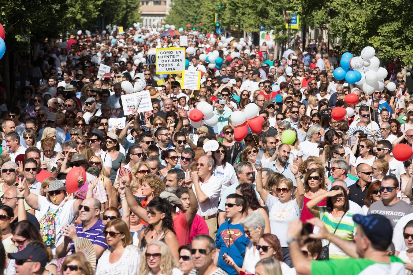 Encuéntrate en la manifestación por la Sanidad de Granada