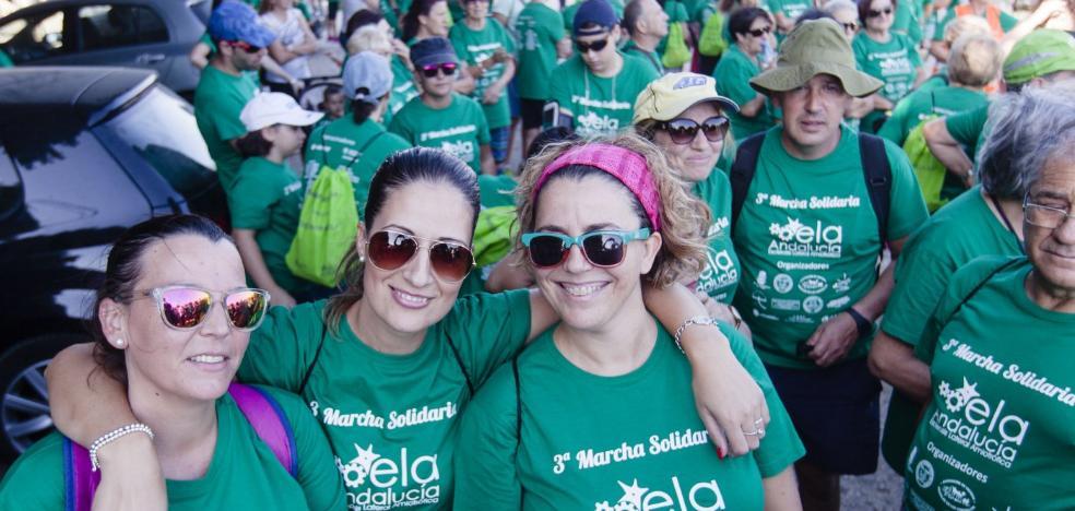 Más de un millar de personas lucha contra la ELA con un paseo solidario