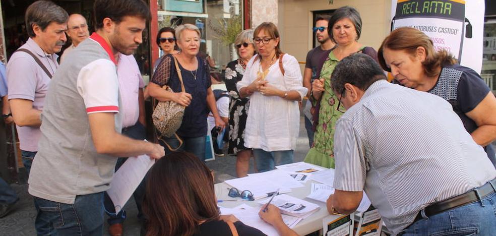 Los jienenses se desahogan contra Autobuses Castillo